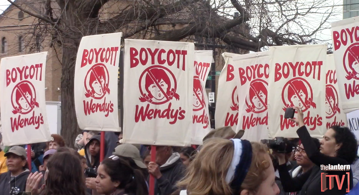 Scarlet Scoop: Organizations march against Wendy's, Harry Potter screened with live music