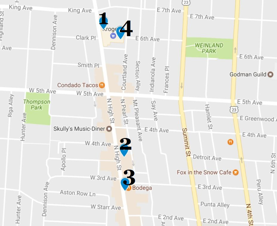 Crime map: 2016 - 17 strangest stolen items from local businesses