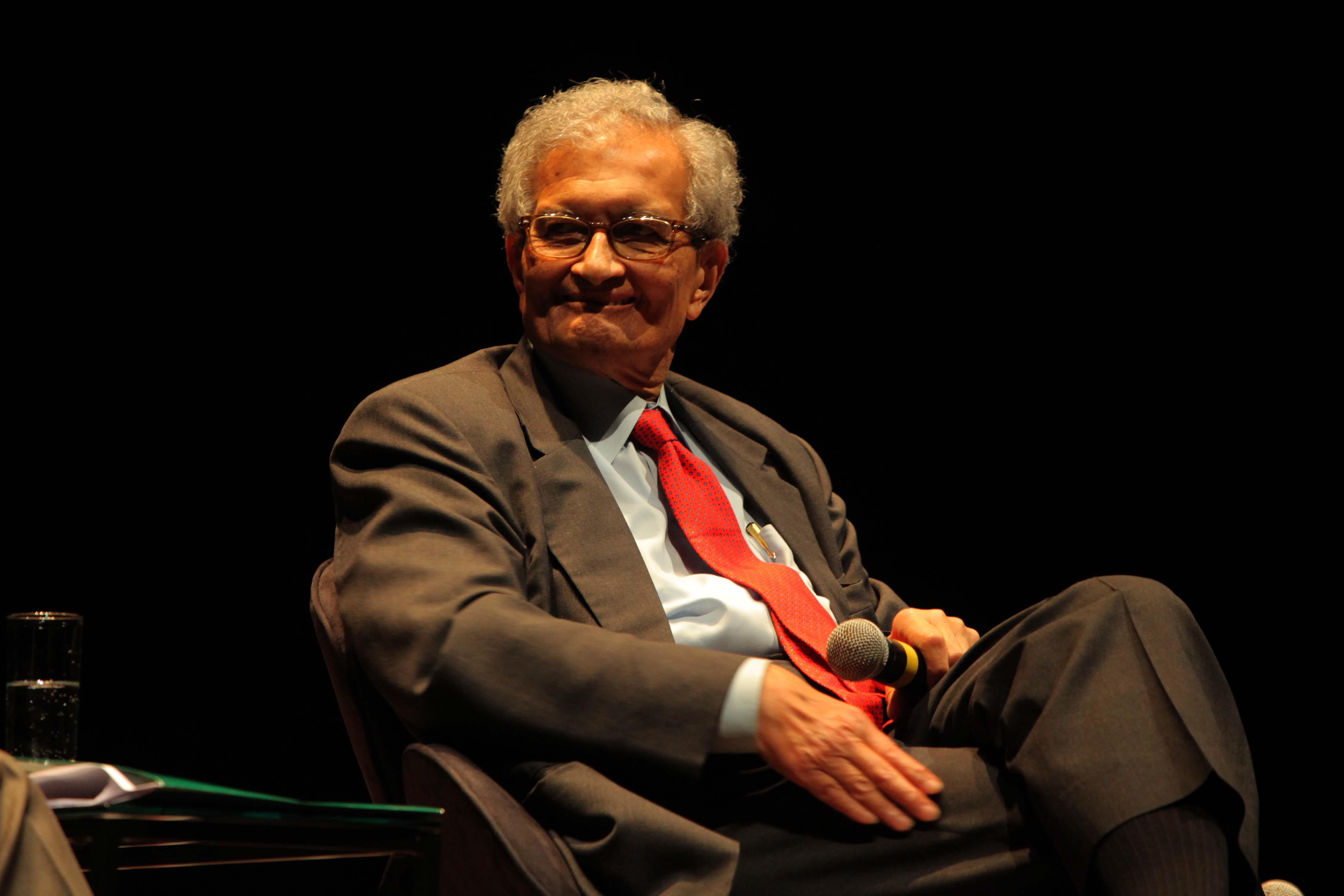 Amartya Sen received the 1998 Nobel Prize in economics for his research on social welfare and equality, particularly in developing countries. Credit: Creative Commons