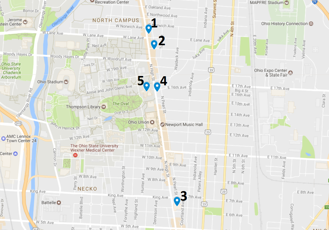 Crime Map May 1 – 7