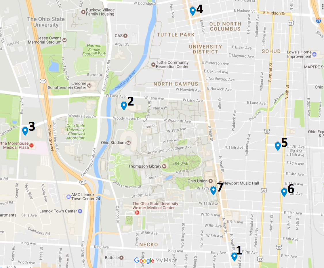 Crime Map May 15 – 21