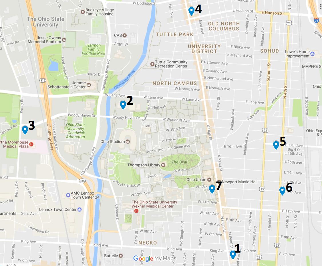 Crime Map May 15 – 21