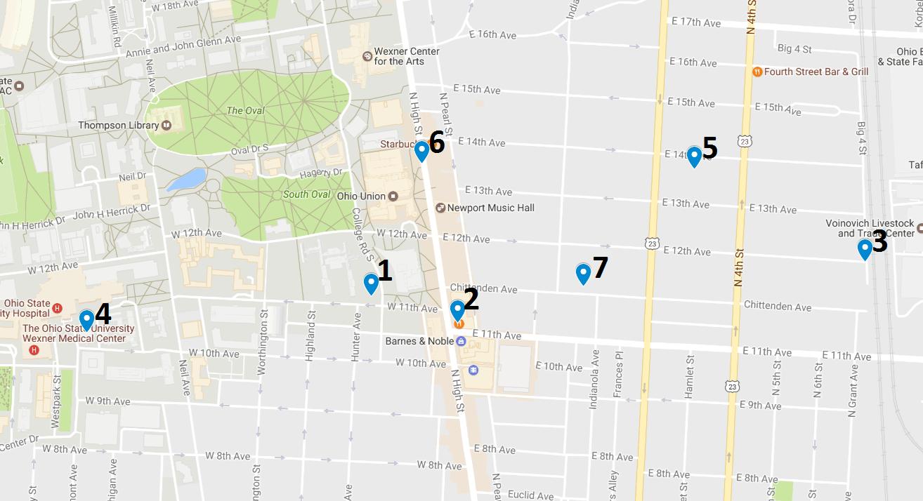 Crime Map May 22 – 28
