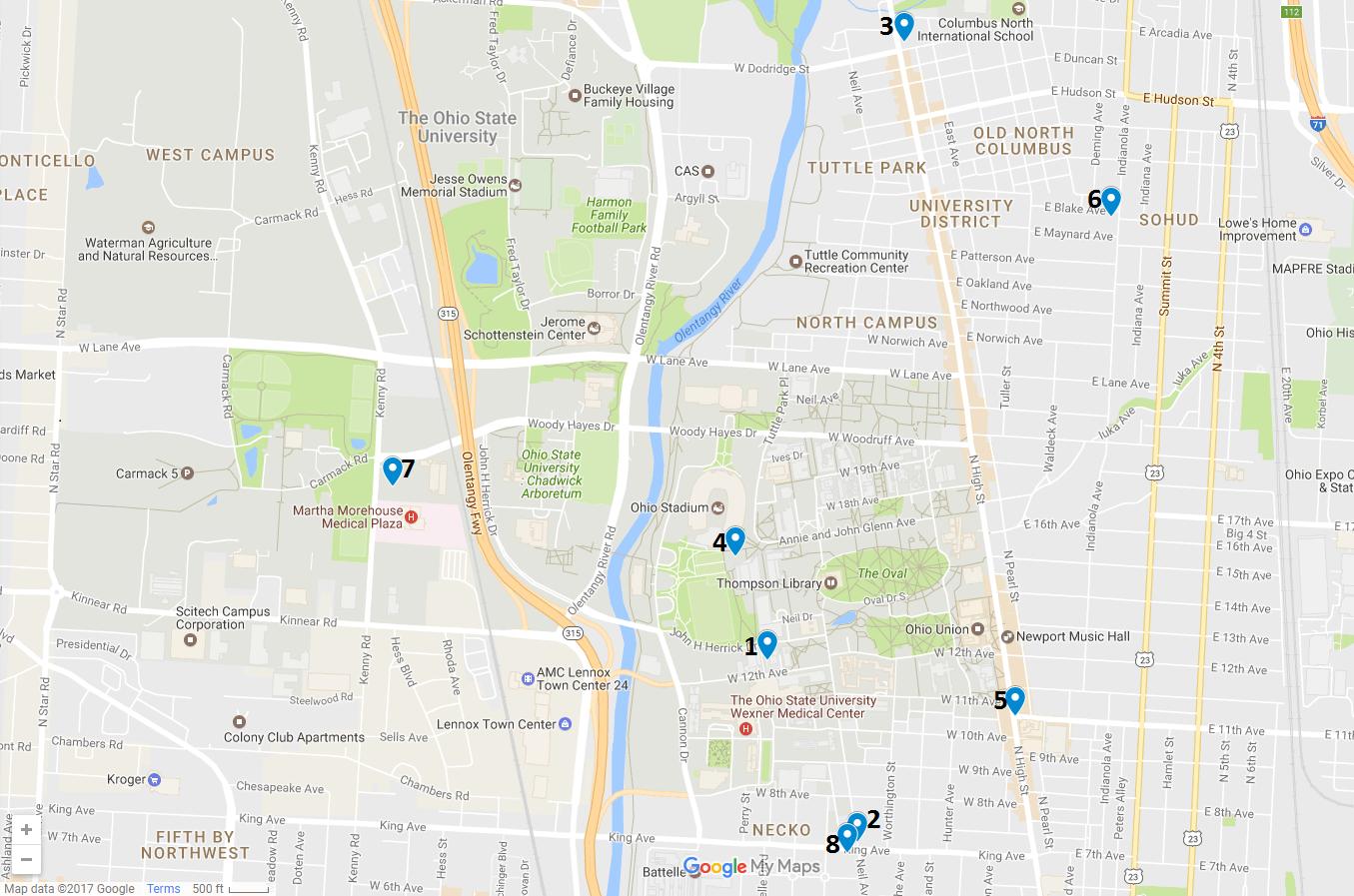 Crime Map May 1 – 7