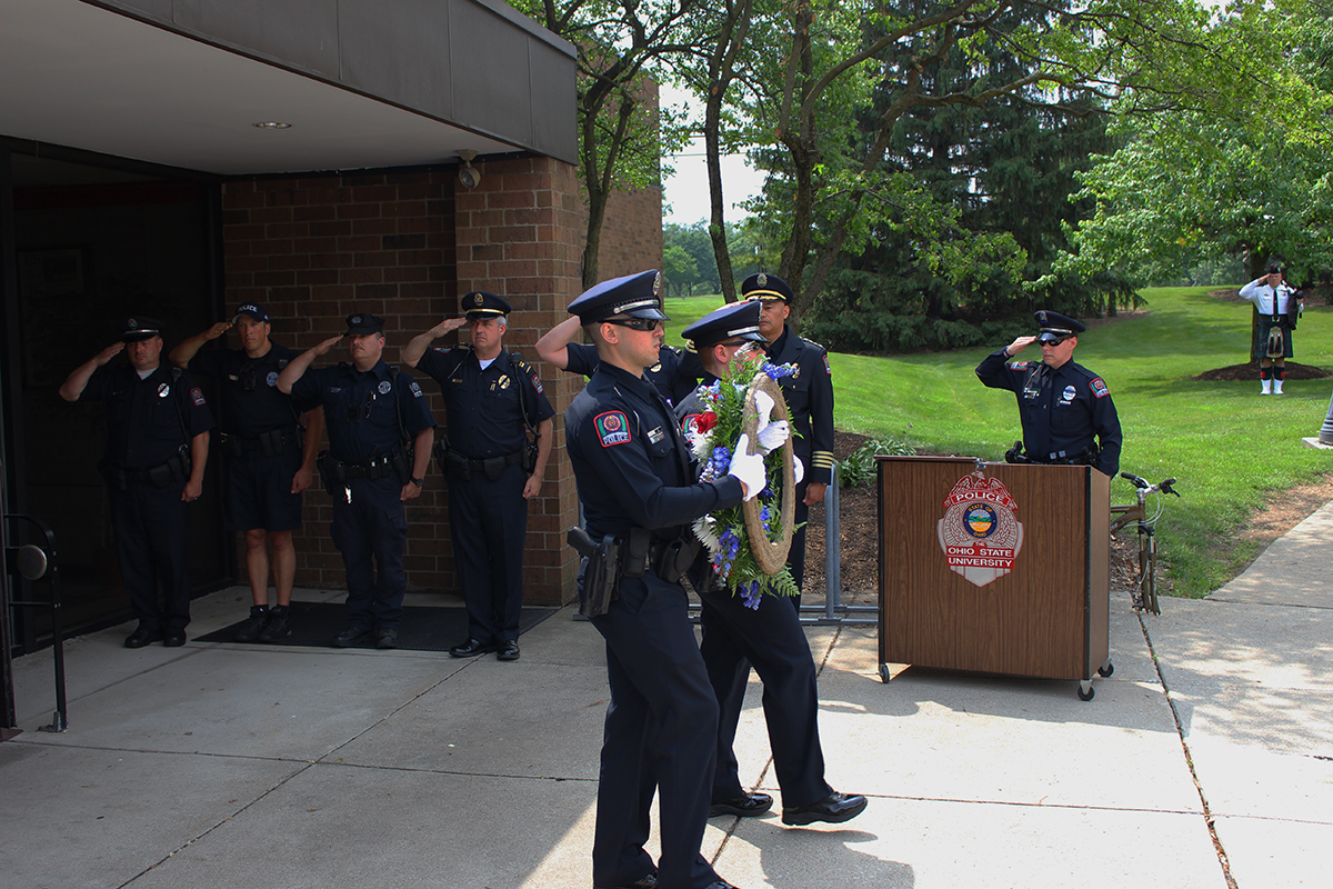 Ohio State Police Division honors fallen officers in National Police Week ceremony