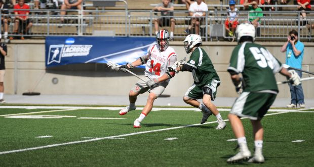 Men's Lacrosse: Ohio State defeats Towson 11-10 to advance to NCAA championship
