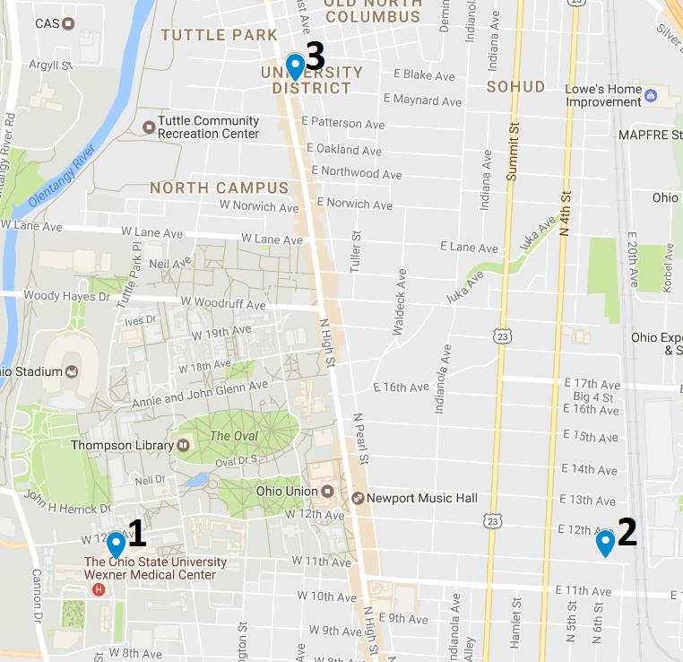 Crime Map May 29 – June 4