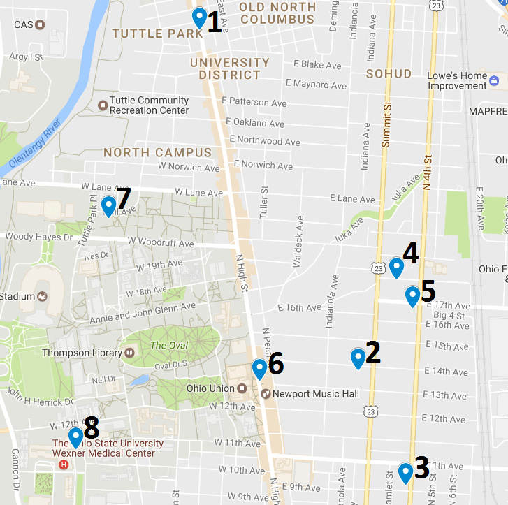 Crime Map June 5 – 11