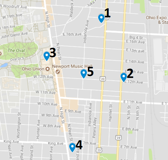 Crime Map July 24 – 30
