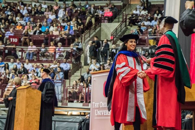 Ohio State Autumn Commencement class largest in university history