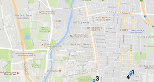 Campus area crime map Aug. 21 – 27