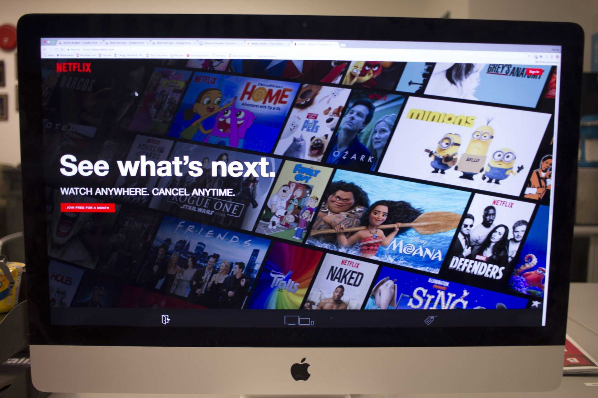 Netflix has over 8,000 movie and television show titles combined available for streaming. Credit: Ris Twigg | Former Assistant Photo Editor
