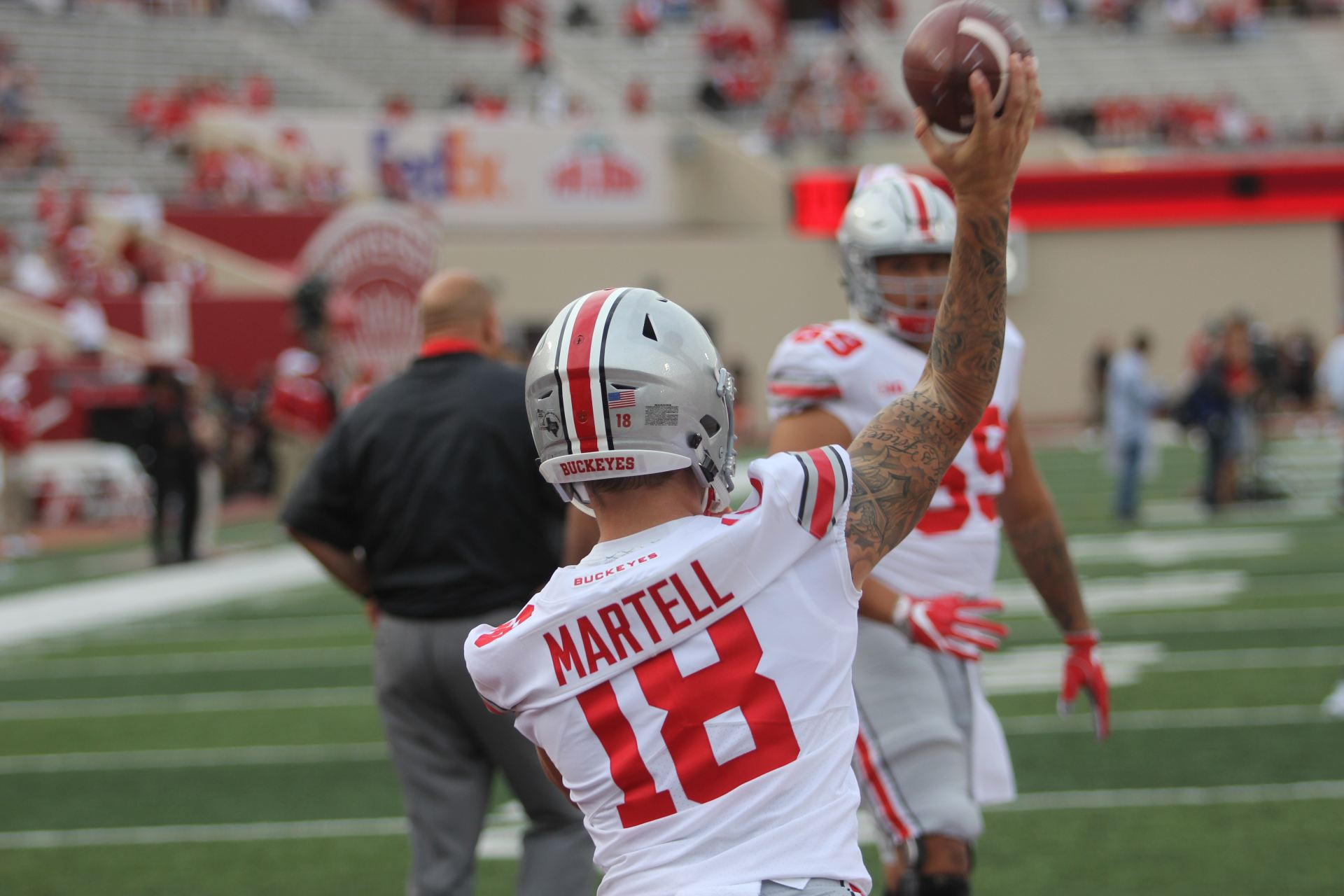 OSU quarterback battle between Haskins, Burrow and Martell ...