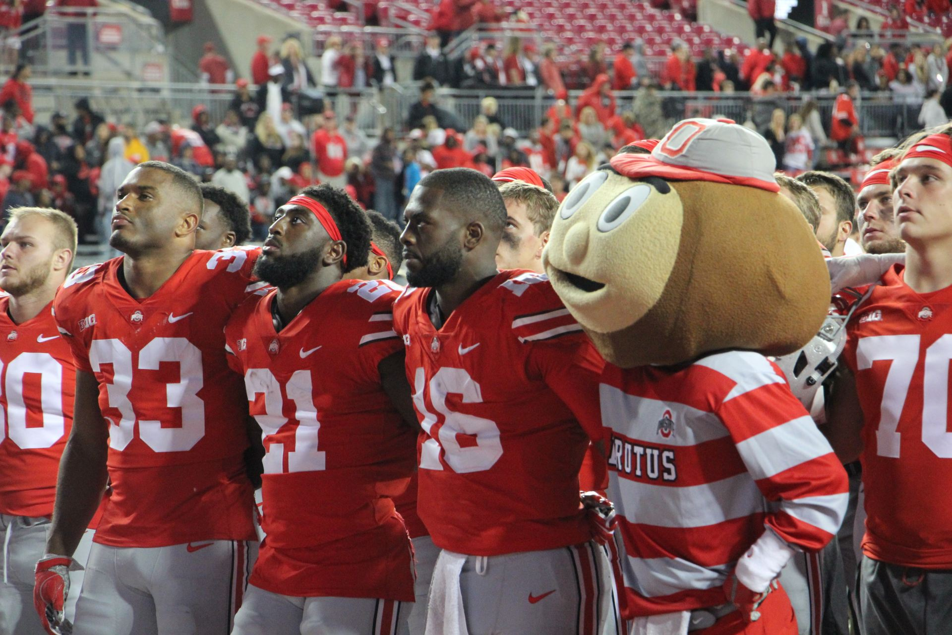Football How Ohio State Will Deal With Its First Loss Of The Season