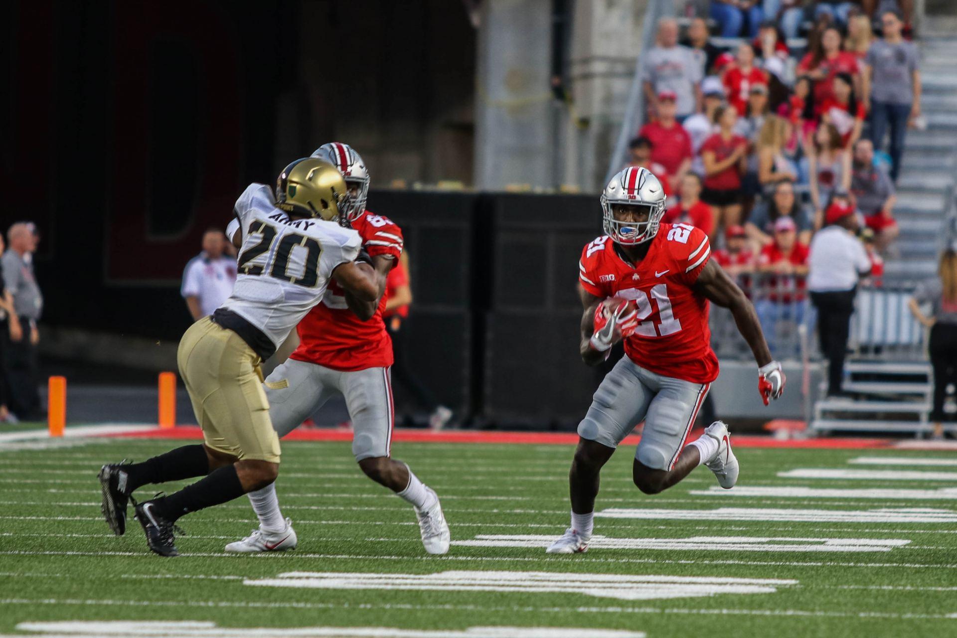 Ohio State S Big Plays This Season Stem From Perimeter Blocking