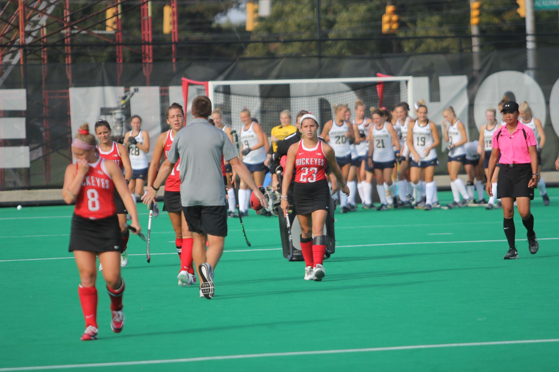 Field Hockey: Five straight goals by No. 2 Maryland down Ohio State on senior day