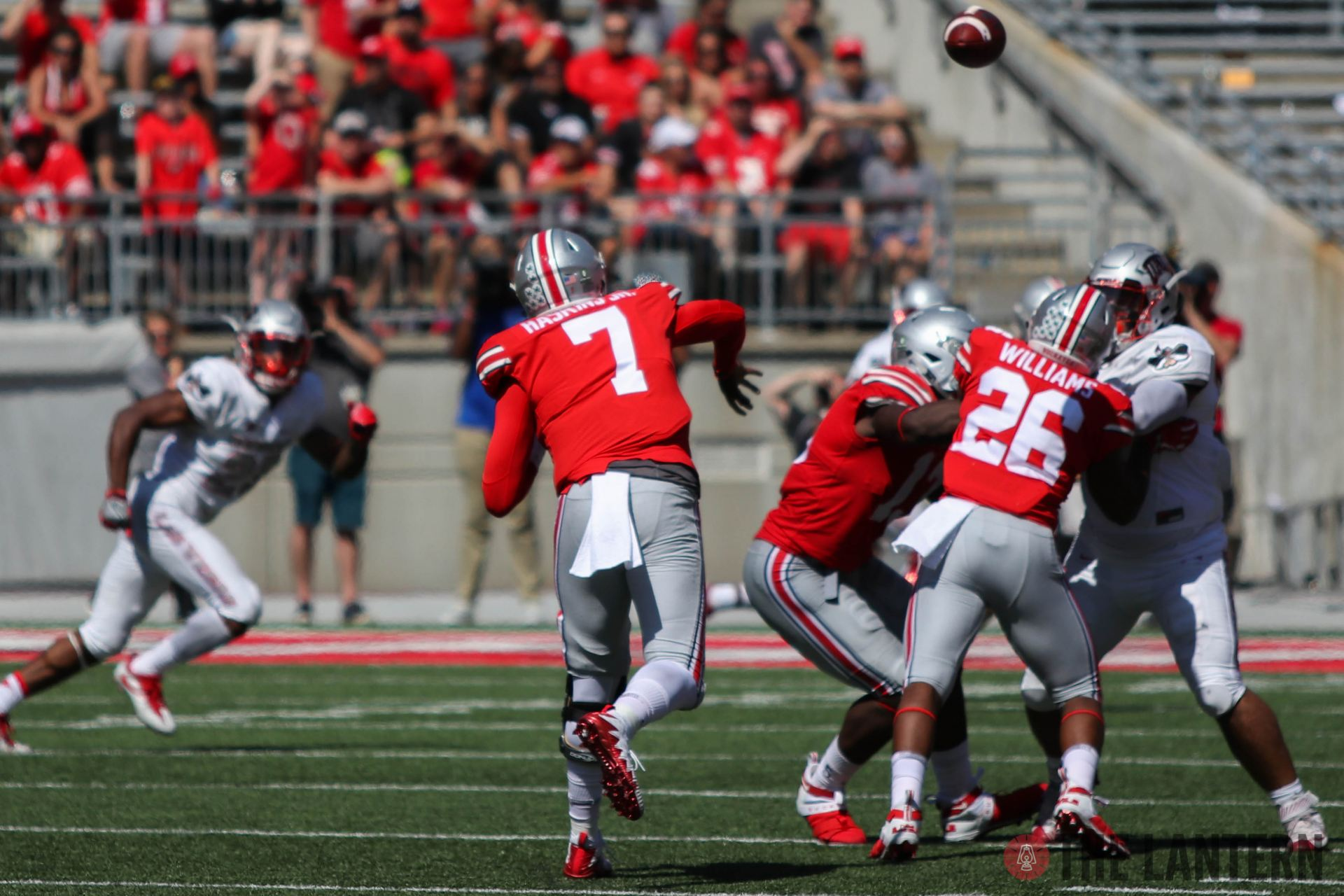 Football: Ohio State receives extended look at Dwayne Haskins in win over UNLV