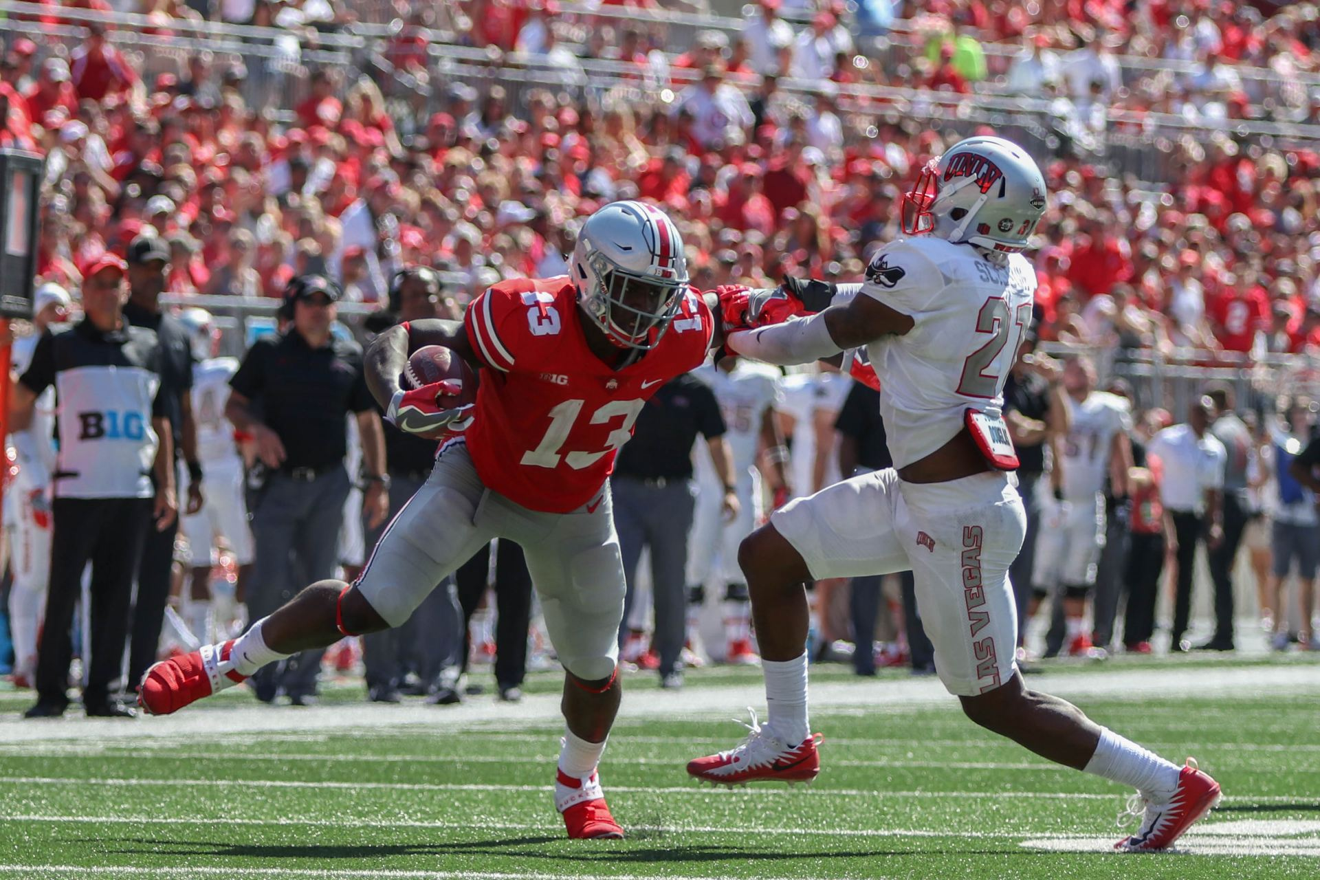 football ohio state will rely on first year starters to make