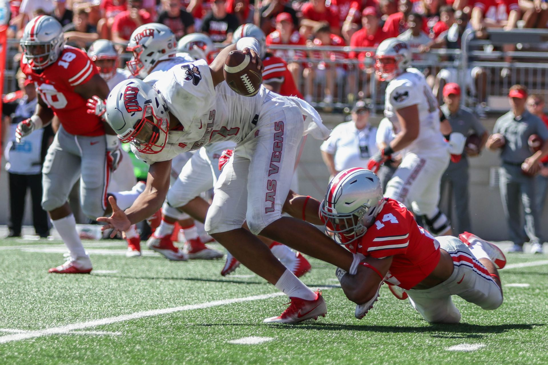Football: Ohio State still eyeing the field for a safety