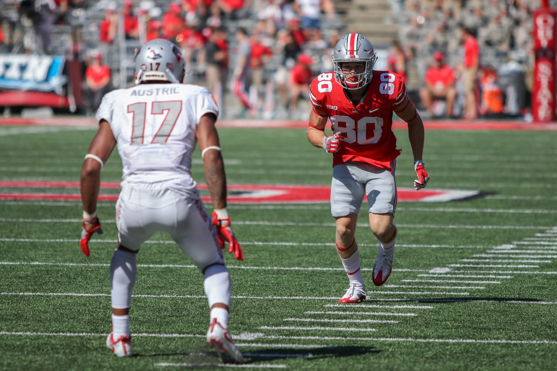 Walk-on C.J. Saunders unlikely path to Ohio State wideout