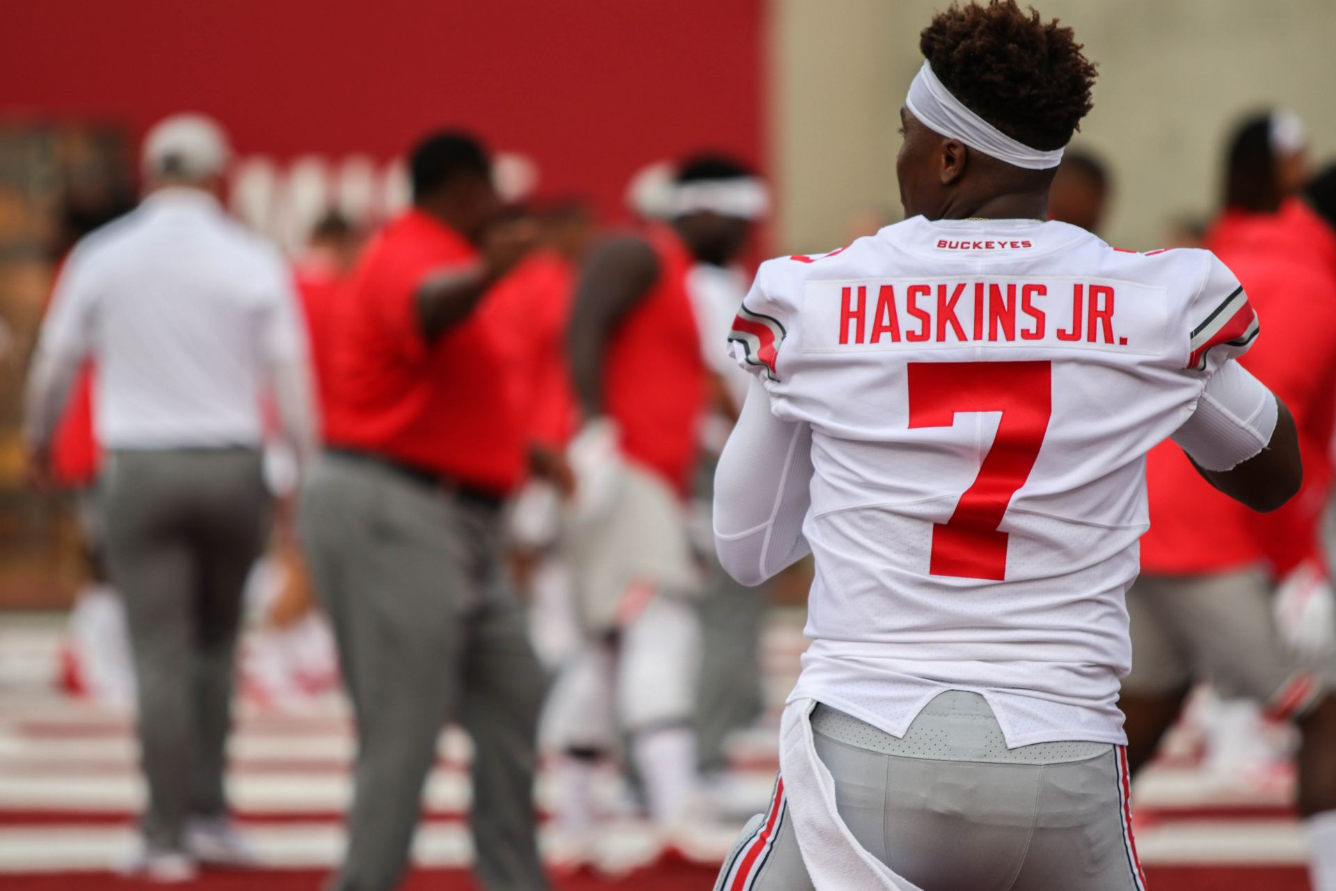 online store 93b0d dd4fa Football: Ohio State quarterback Dwayne Haskins makes case ...