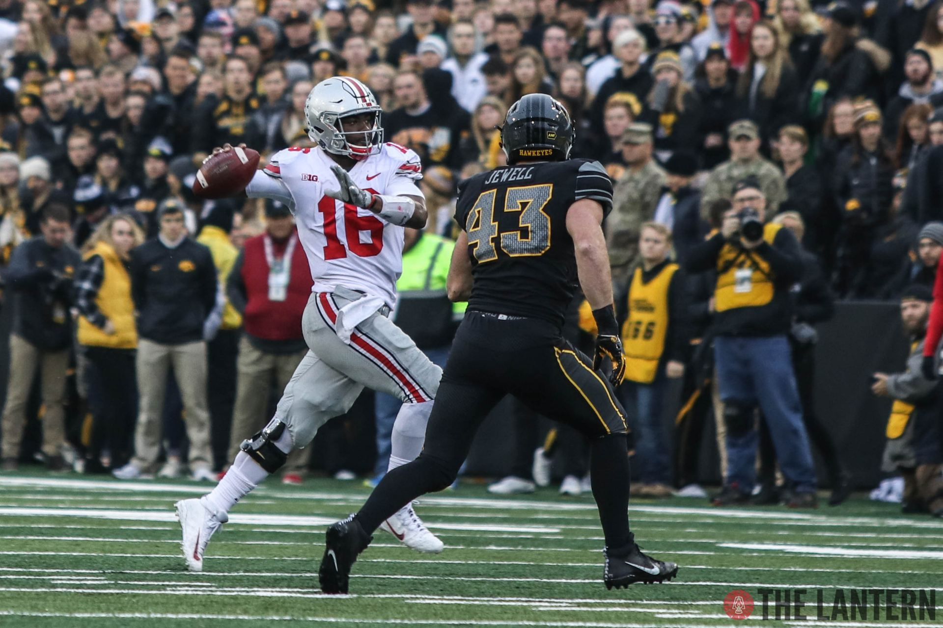 Football Ohio State Vs Iowa By The Numbers