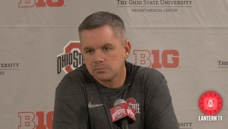 Ohio State men's basketball head coach Chris Holtmann - Jan. 10, 2018 press conference