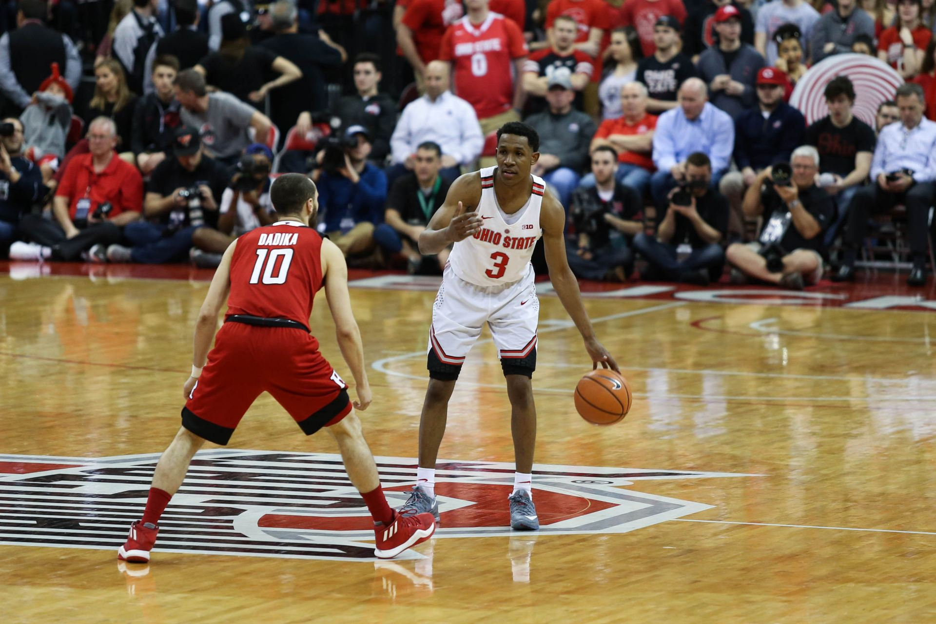 Men's Basketball: No. 16 Ohio State's regular season comes to an end against Indiana with future uncertain