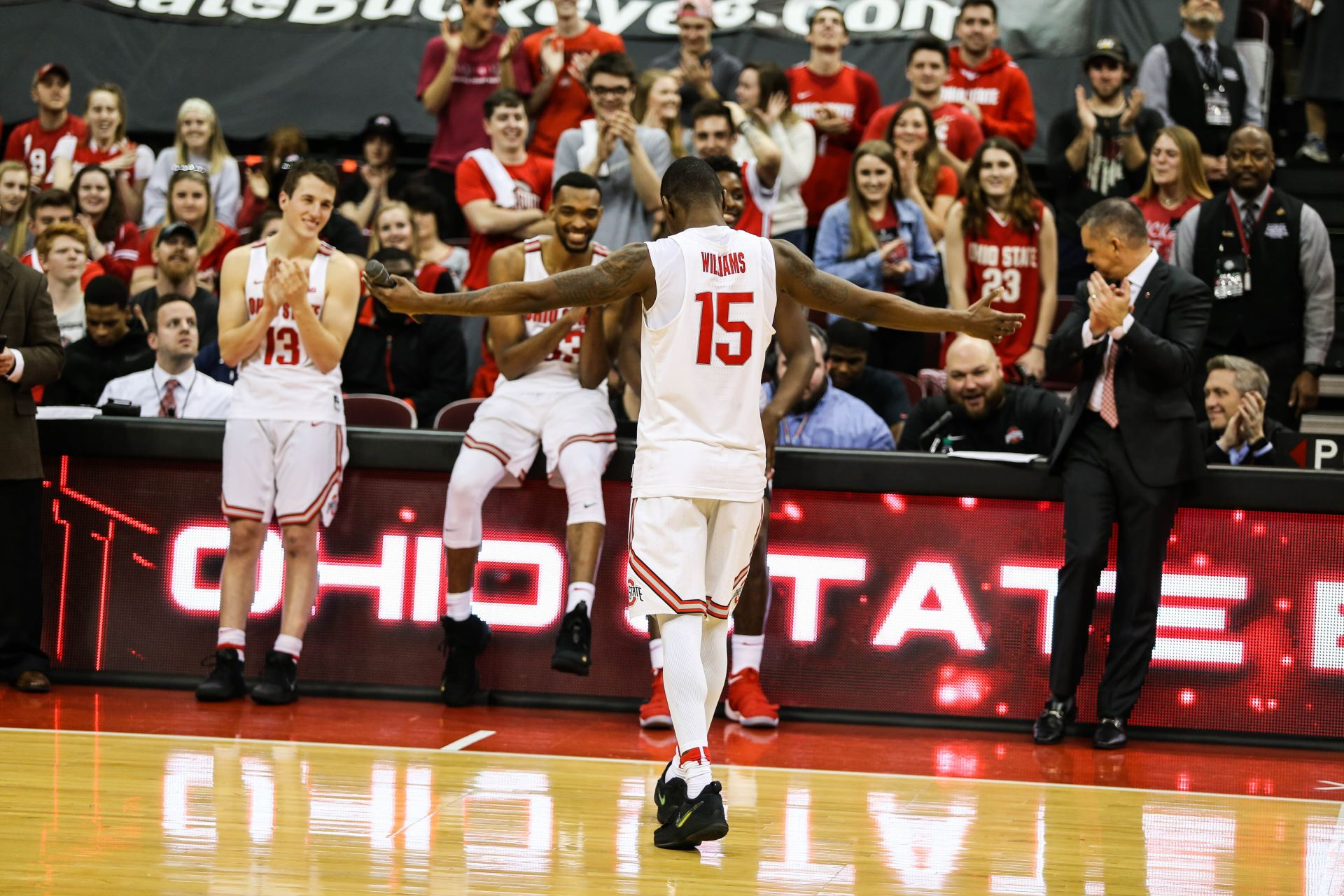 Men's Basketball: No. 5 Ohio State holds off No. 12 South Dakota State 81-73 to advance in NCAA Tournament