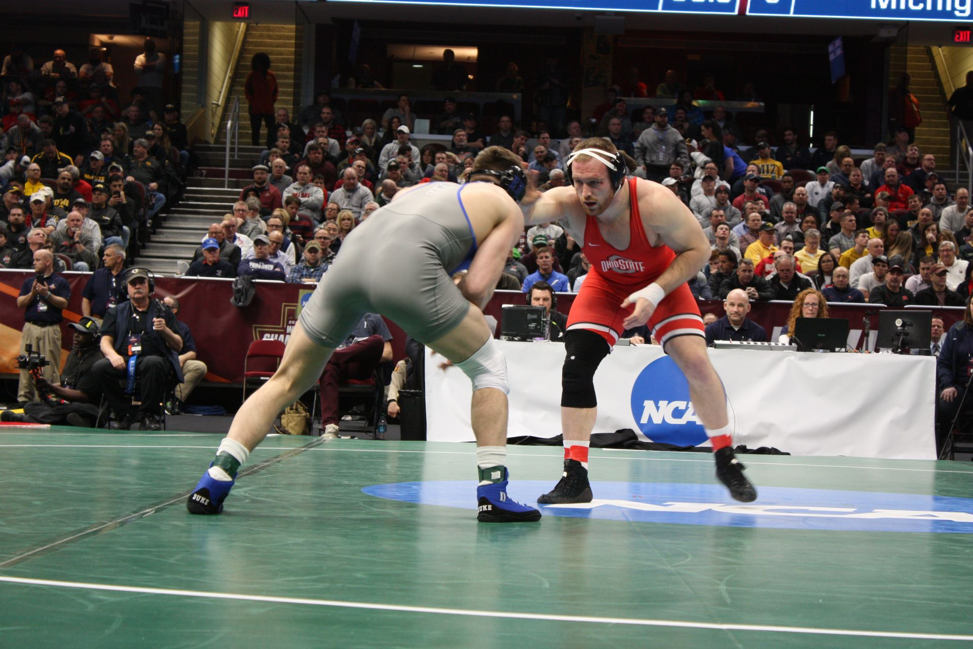 Wrestling: Kyle Snyder becomes three-time NCAA champion with 3-2 win against Adam Coon