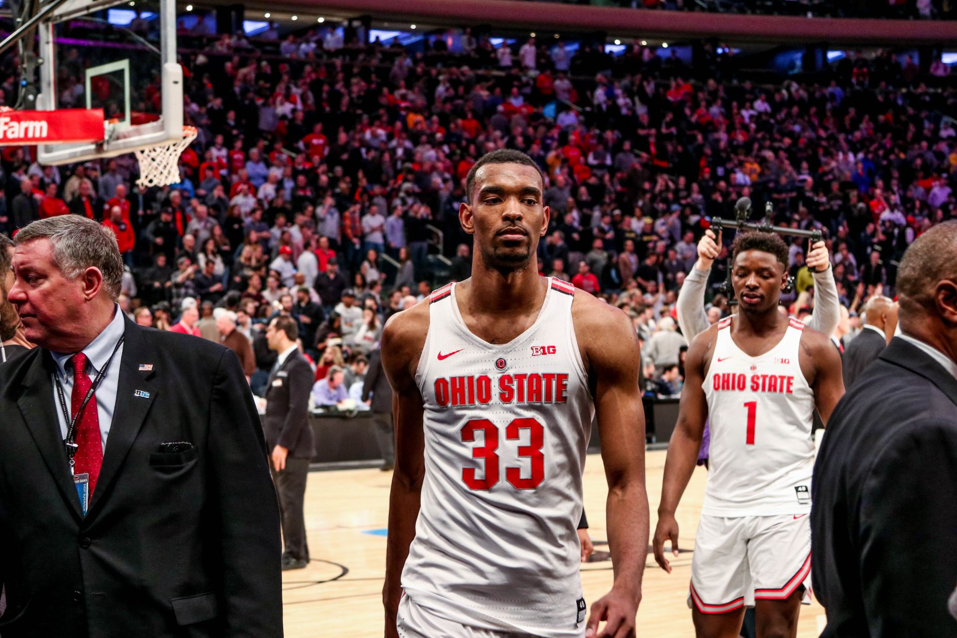 Men's Basketball: Second-half Ohio State comeback not enough in 90-84 loss to Gonzaga in NCAA Tournament