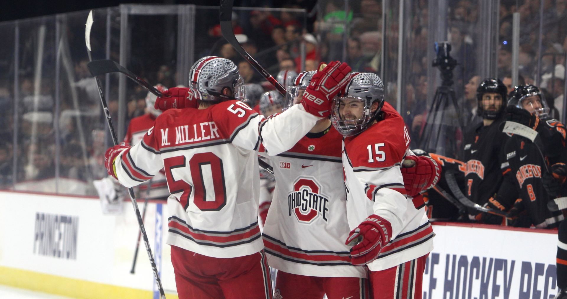 Men's Hockey: Ohio State advances to NCAA tournament Midwest regional final with 4-2 win against Princeton