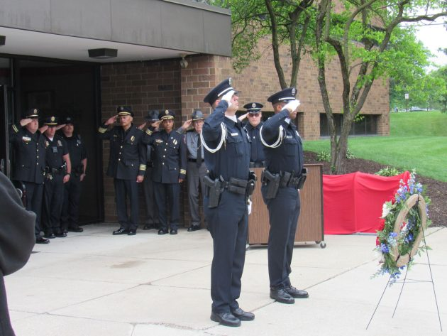 University Police come together to remember Michael Blankenship