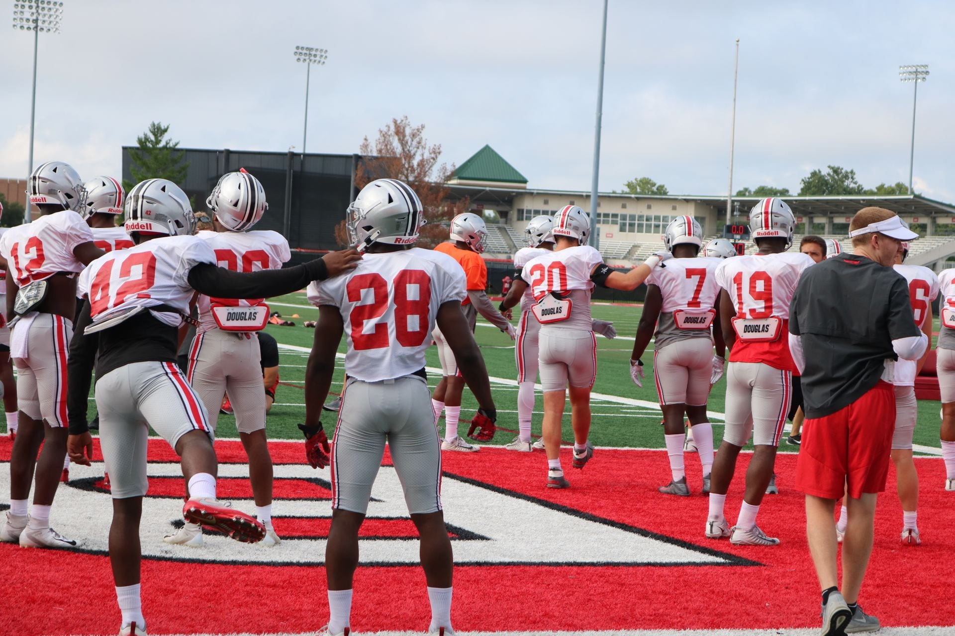 Football: Ohio State ends fall practice with uncertainty