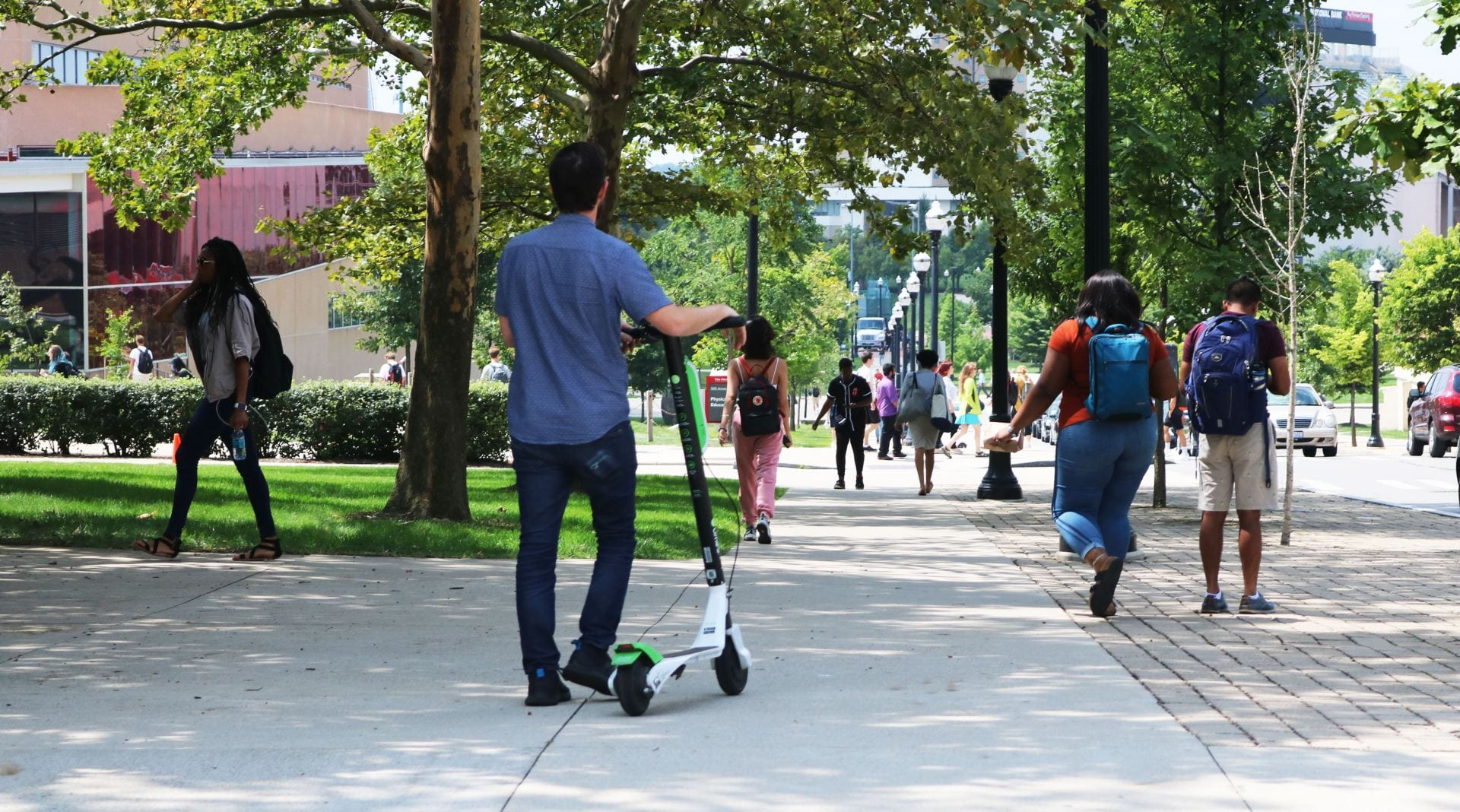 Regulations on scooters are decided in Columbus