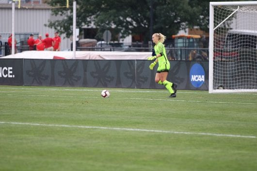 Women's Soccer: Ohio Condition defeats Michigan Condition 1-0 with Brizon goal