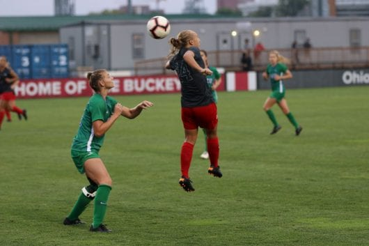 IMG 8547 1d1w1m1 530x353 - Women's Soccer: Ohio Condition concludes regular season with 2-1 make an impression on No. 19 Wisconsin