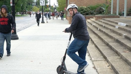Columbus local founds scooter based grassroots movement
