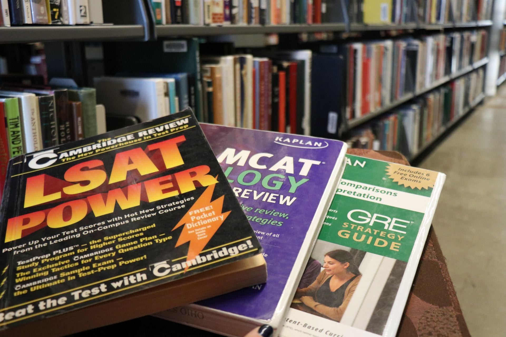 GRE, MCAT and LSAT: Preparing for the big three without