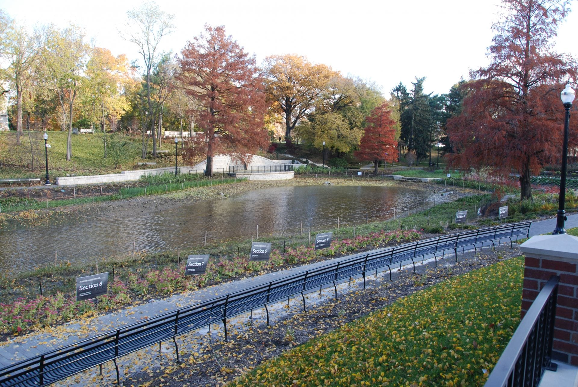 Ohio State drains Mirror Lake in effort to prevent jump