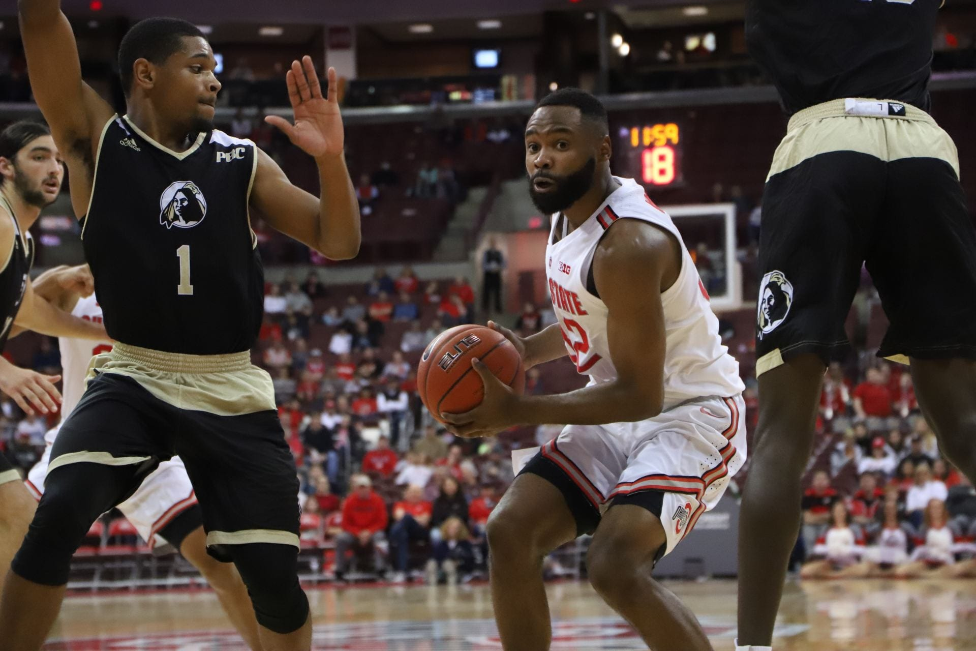 men's basketball: ohio state starts season as underdog against
