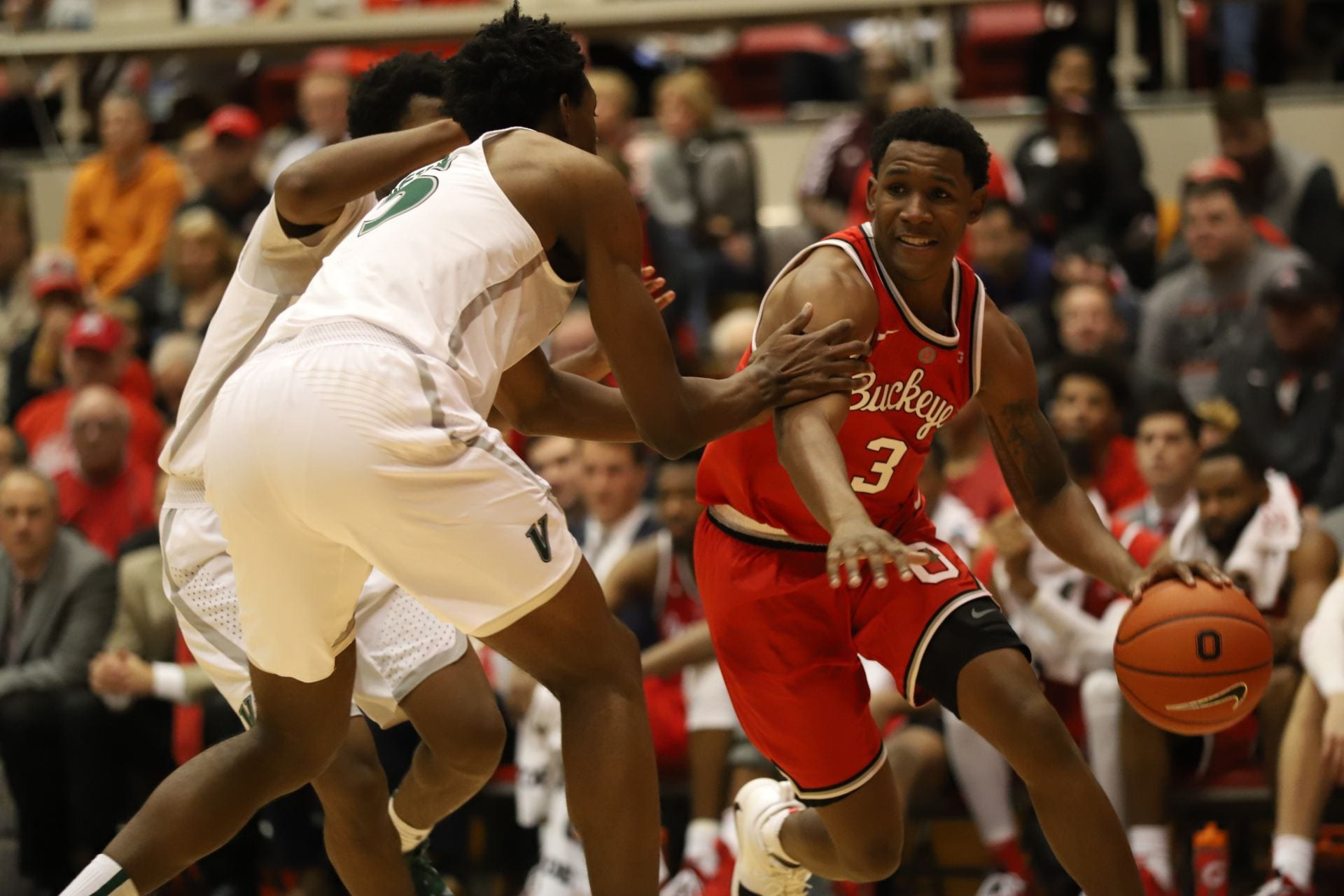 Men S Basketball No 16 Ohio State Battles Syracuse In Acc Big Ten