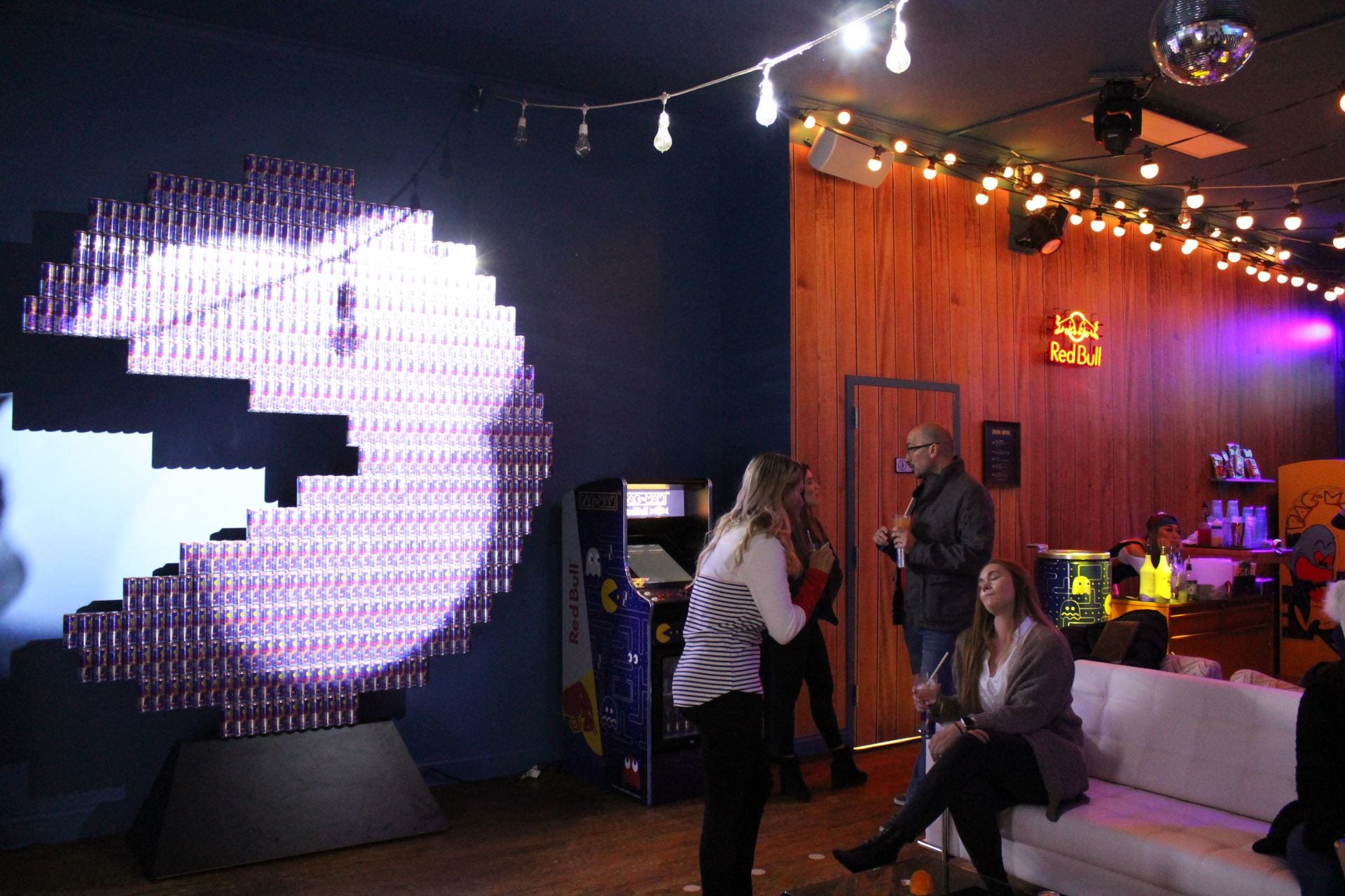 Red Bull Pac Man Collaboration Brings Pop Up To Columbus