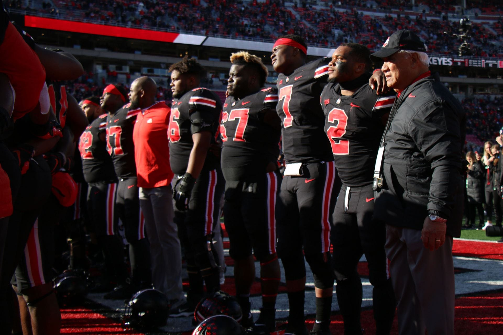 Football Ohio State To Wear All Black Uniforms Against Michigan