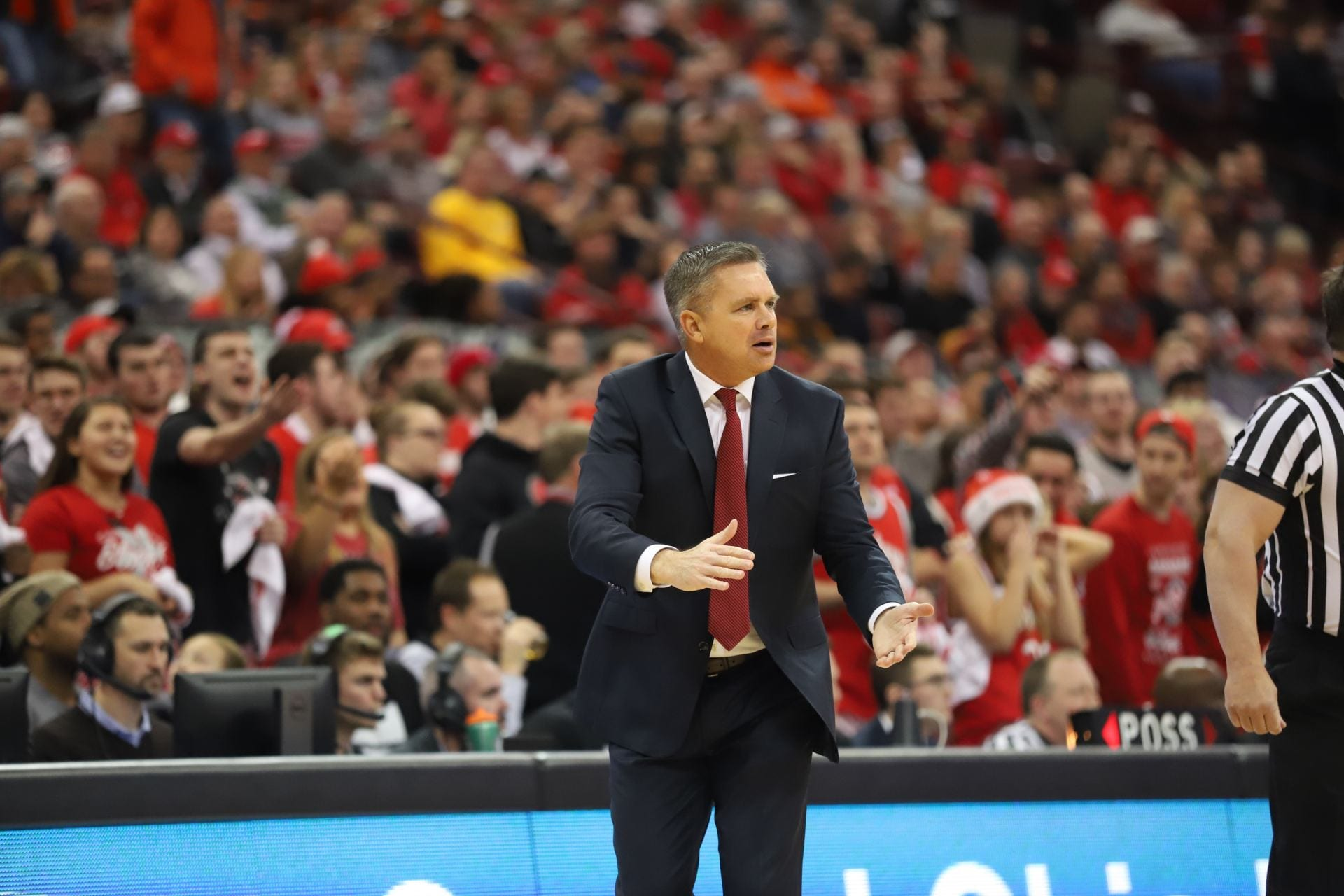 Men S Basketball Ohio State Moves Forward After First Loss Of