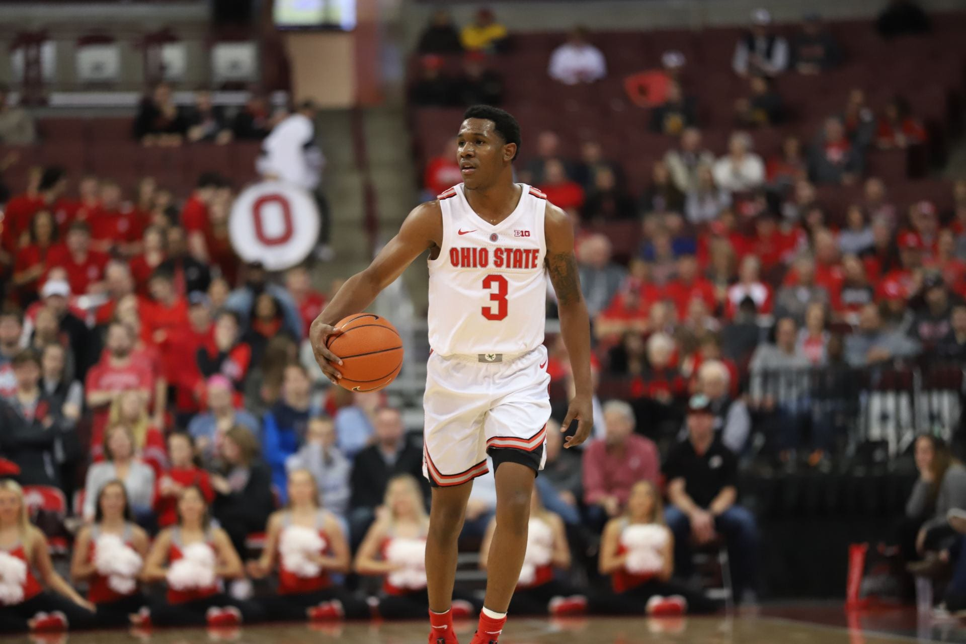 men's basketball: no. 15 ohio state returns from break to face