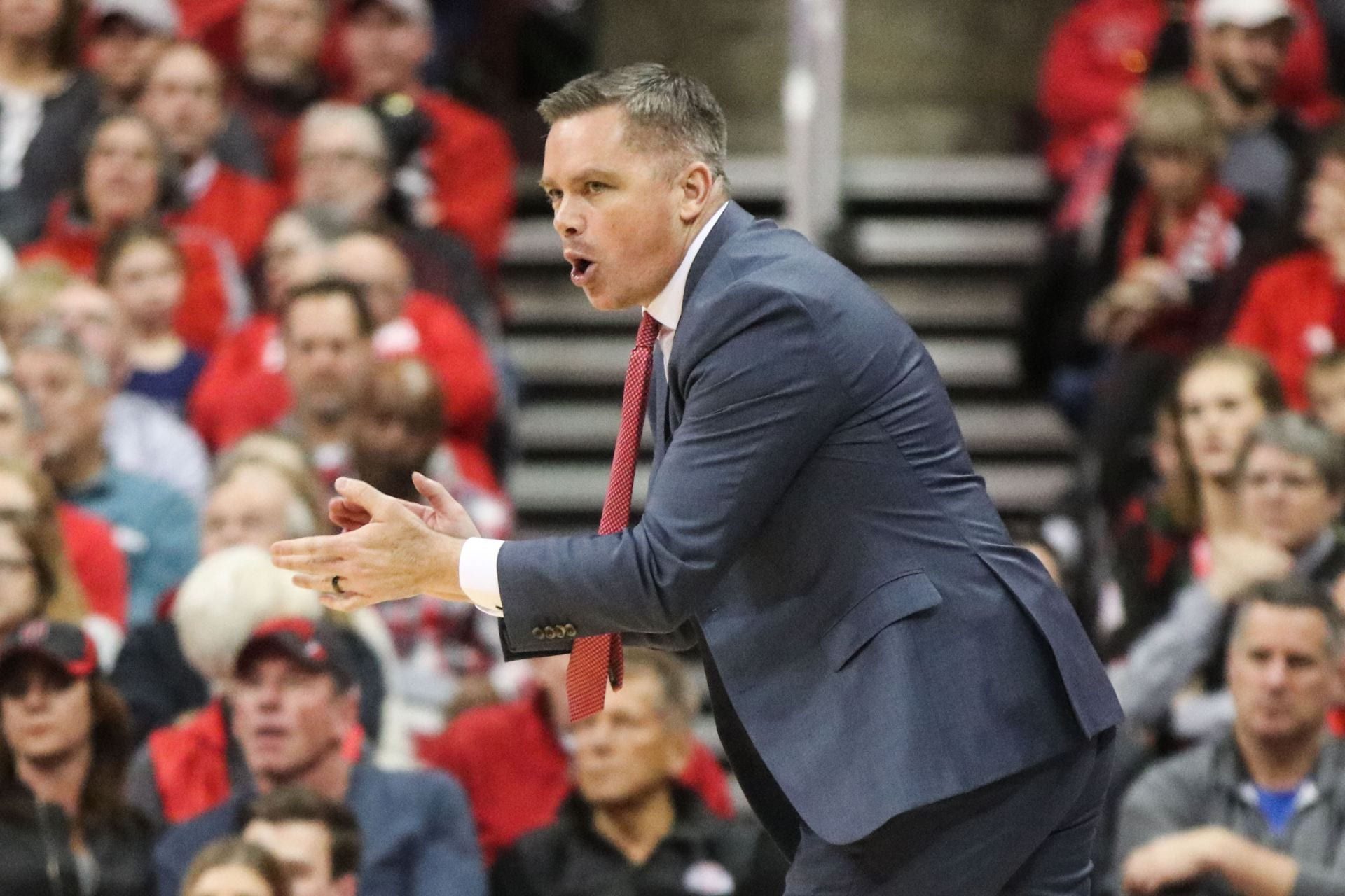 Men's Basketball: Ohio State takes four-game losing streak into game against Purdue