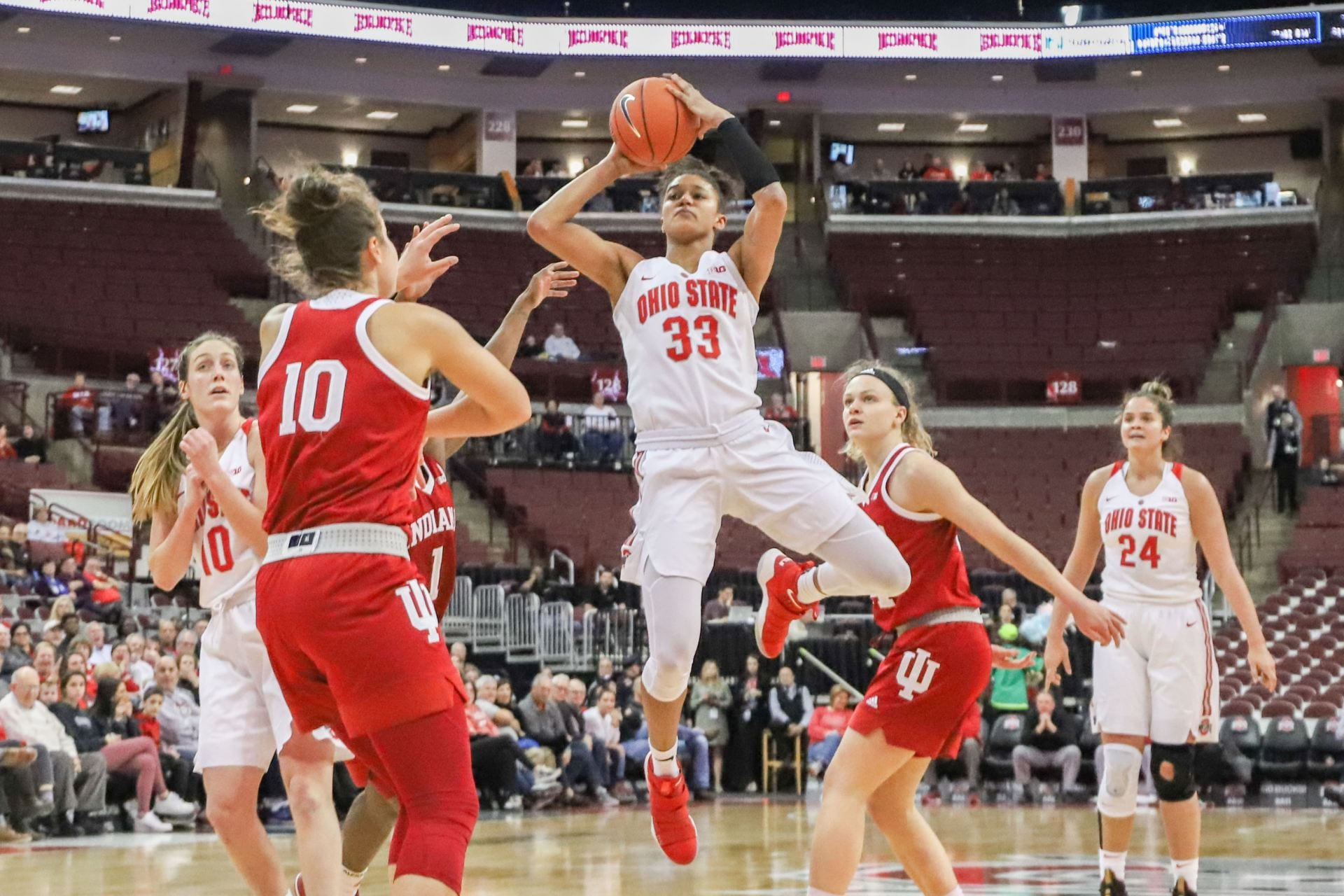 Women's Basketball: Momentum-driven Ohio State attempts to ...