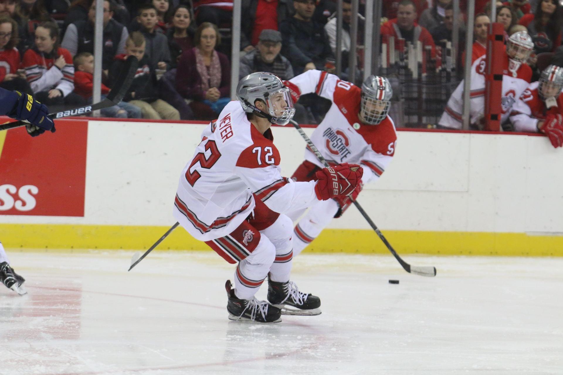 Men S Hockey No 4 Ohio State To Play High Scoring Penn State In
