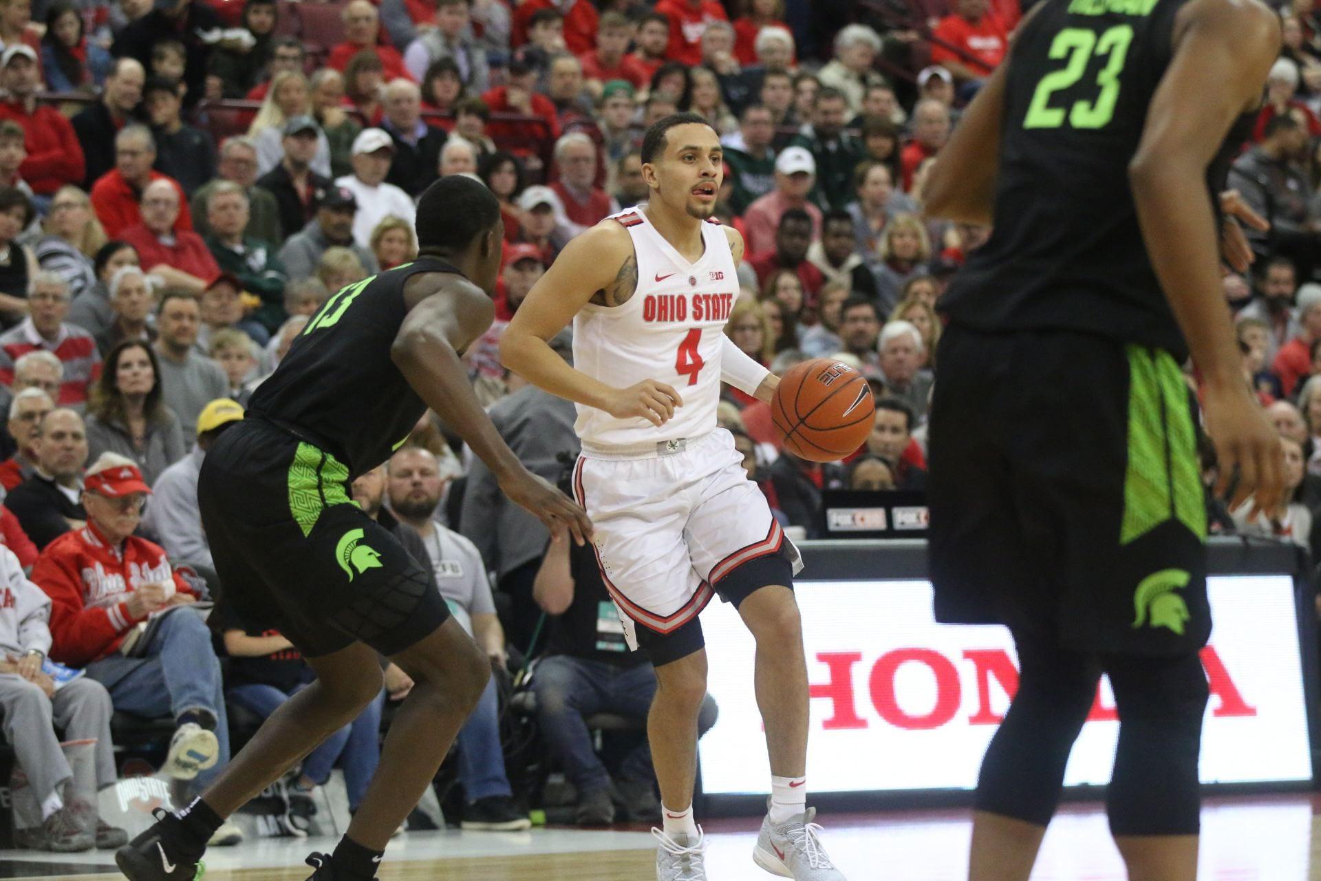 Mens Basketball No 14 Ohio State Suffers First Big Ten Loss To No